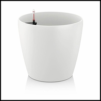14in. Shatterproof Self-Watering Planter - White