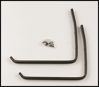 Countryside Wall Brackets - Black (Pair)