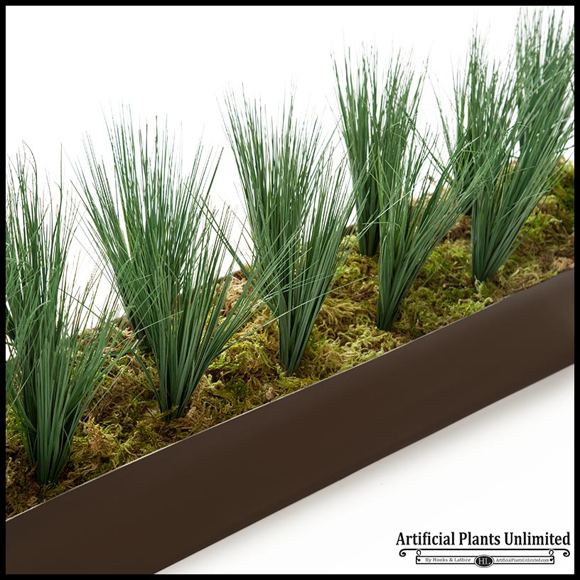 Faux grass cubicle privacy screen artificial plants for Privacy grass