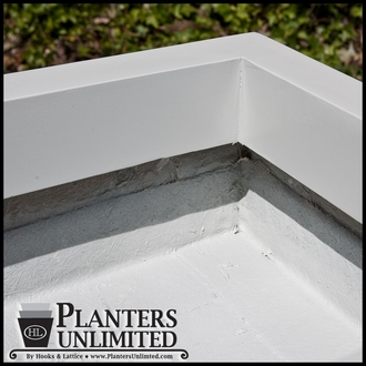 Custom False Bottom Planter
