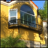 Custom Faux Balconies