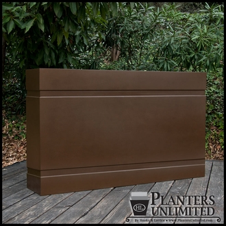 Custom Fiberglass Outdoor Channel Planters