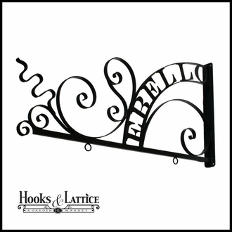 Custom Hanging Sign Brackets