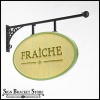 Custom Hanging Sign Bracket - Florence