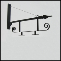 40in. Gothic Fixed Mount Sign Bracket