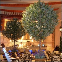 Custom Made Fabricated Fire Retardant Trees