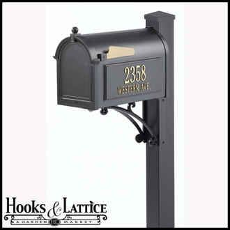 Custom Mailbox - Grande Package | Four Colors to Choose From