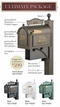 Custom Mailbox - Venti Package   Four Colors to Choose From