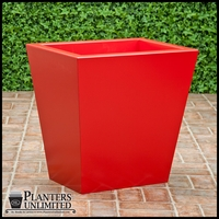 Custom Red Planter