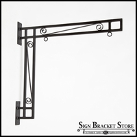 Custom Truss - Style Blade Sign Bracket