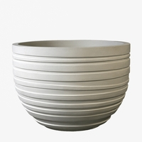 Cyclo Round Cast Stone Planter 21in.D x 15in.H