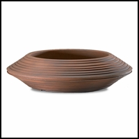Danbury 24in. Bowl Planter - Rust