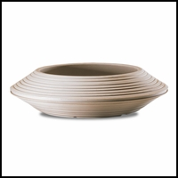 Danbury 36in. Bowl Planter - Weathered Stone