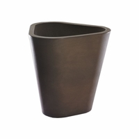 Dao 16in. Modern Triangle Planter - Vintage Copper