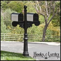 Darlington Double Mail Box Complete System