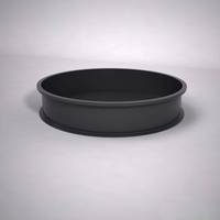 Dartington Low Profile Round Planter 60in.D x 12in.H