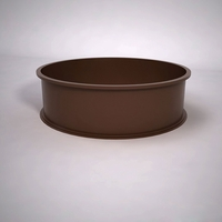 Dartington Low Profile Round Planter 60in.D x 18in.H