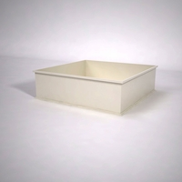 Dartington Low Profile Square Planter 60in.L x 60in.W x 18in.H