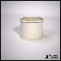 Dartington Round Fiberglass Planter 24in.D x 18in.H
