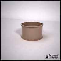 Dartington Round Fiberglass Planter 30in.D x 18'H