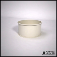 Dartington Round Fiberglass Planter 36in.D x 18in.H