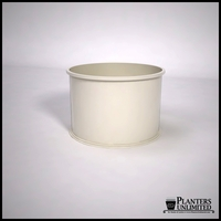 Dartington Round Fiberglass Planter 36in.D x 24in.H