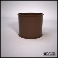 Dartington Round Fiberglass Planter 36in.D x 30in.H