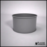 Dartington Round Fiberglass Planter 42in.D x 24in.H