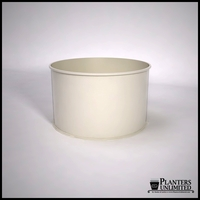 Dartington Round Fiberglass Planter 60in.D x 36in.H