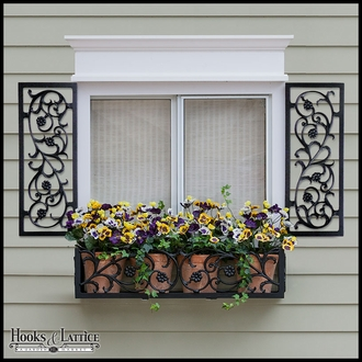 Decorative Aluminum Shutters