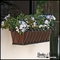 Del Mar Decora Window Box w/ Textured Bronze Liners