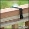 Deluxe Deck Rail Bracket - 2x4 Wood Railing - (Pair)
