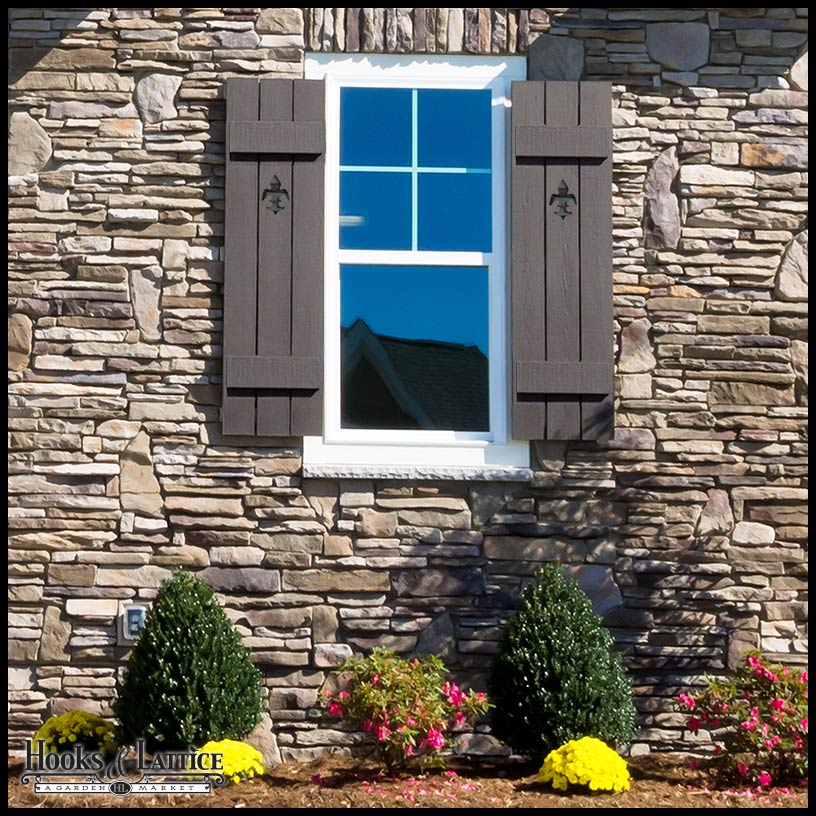 Curb appeal on pinterest board and batten shutters - Board n batten exterior shutters ...