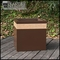 Designer Planters with Wood Accents