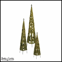 Diamond Mossy Garden Obelisk (3 Sizes)
