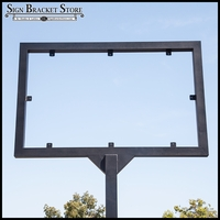 Direct Bury Metal Sign Frame (2 Sizes)