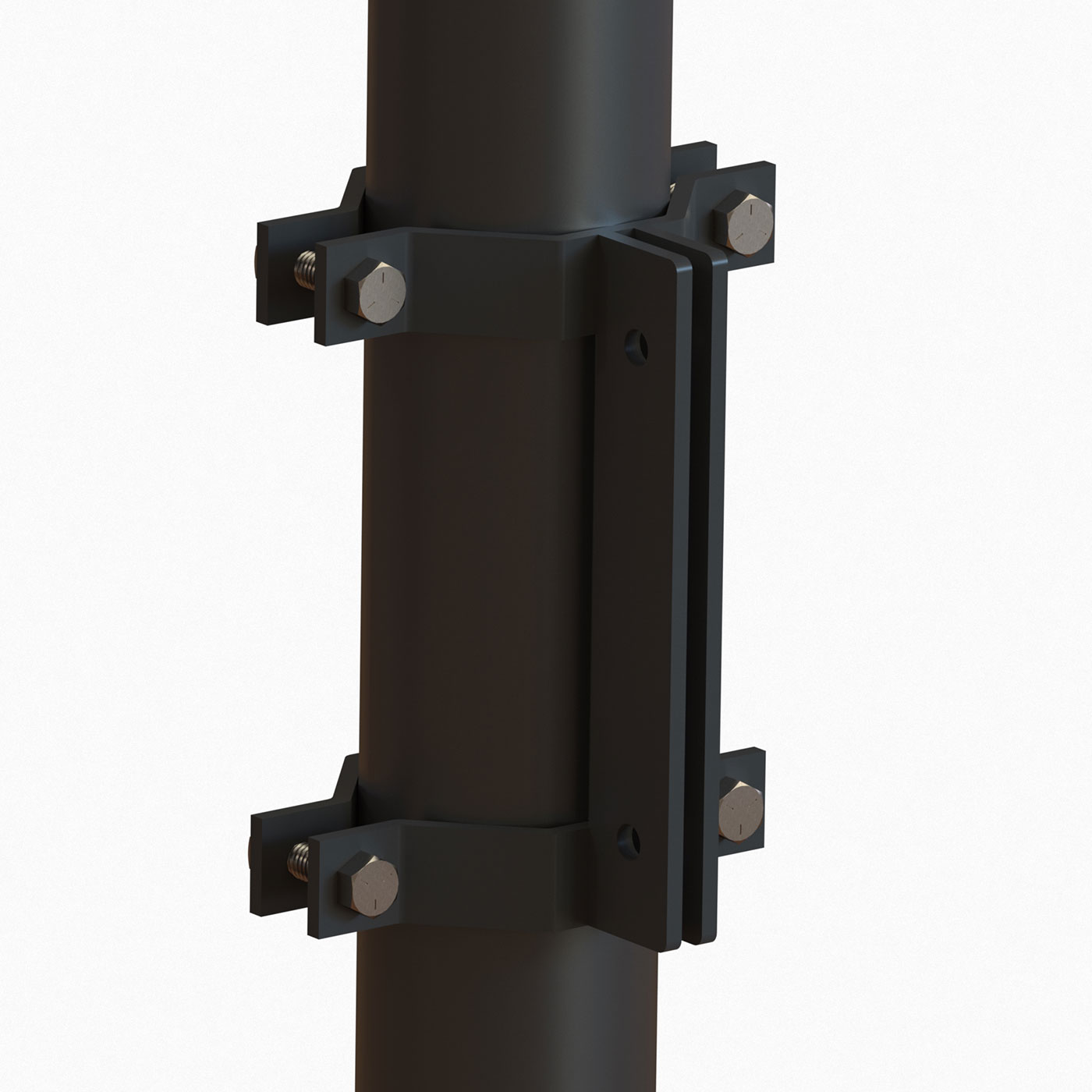 Light Pole Sign Brackets: Outdoor Pole Brackets