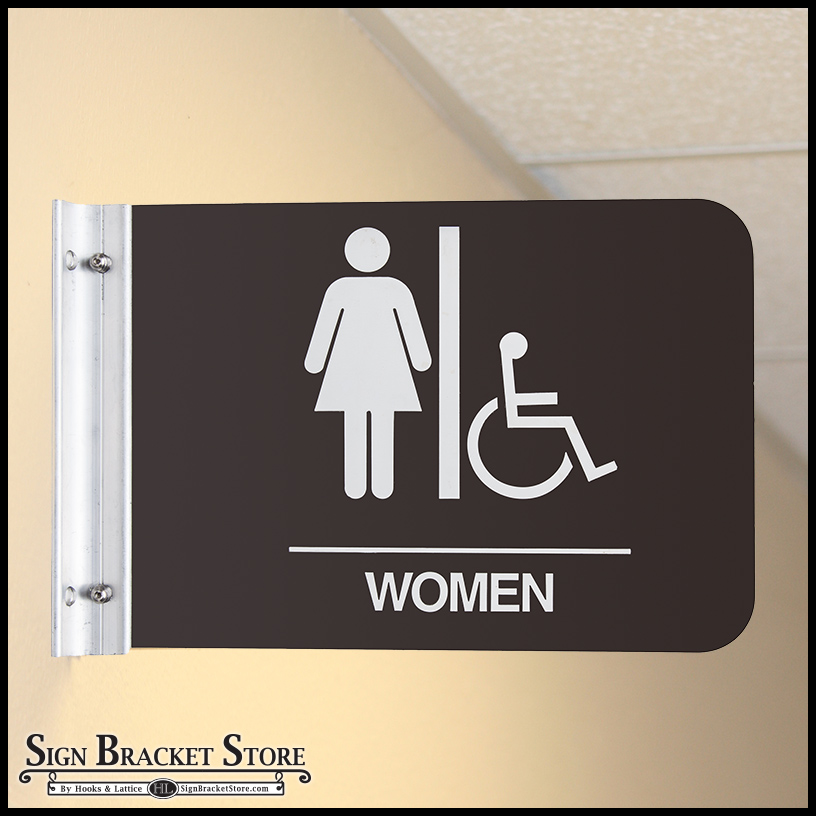 Direct Sign Mounts Corridor Sign Holders