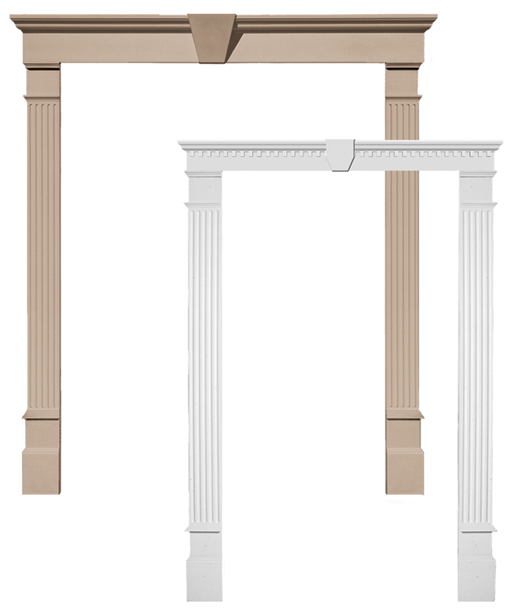 Door Surrounds Door Pilasters Door Pediment Door Surround Molding
