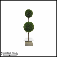 Double Ball Zen Grass Topiary 5'