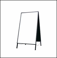 Dry Erase Writable Folding Sidewalk Sign