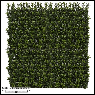 Duraleaf 45 Degree Boxwood Artificial Outdoor Living Wall 48in x 24in