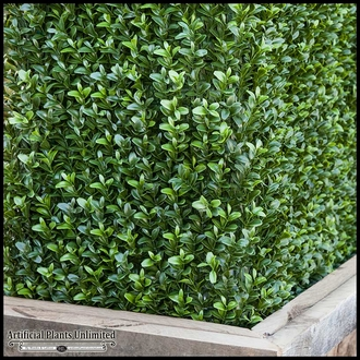 Duraleaf Boxwood Indoor Artificial Hedge 36inLx 12inW