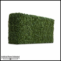 Duraleaf Boxwood Outdoor Artificial Hedge 24inLx 12inW