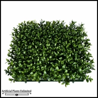 Duraleaf Plush Boxwood Artificial Outdoor Living Wall 72in x 72in