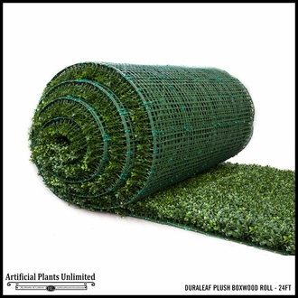 16' Duraleaf Plush Boxwood Outdoor Artificial Roll