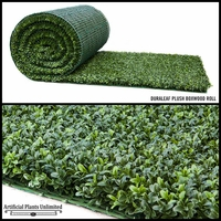 8' Duraleaf Plush Boxwood Outdoor Artificial Roll