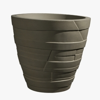 Easton Round Cast Stone Planters