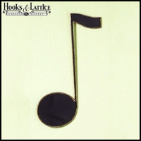 Eighth Note Wall Decor