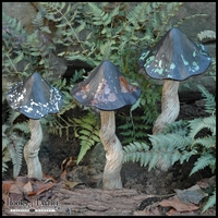 Elfin Forest Tippy Toadstool Garden Statues and Ornaments
